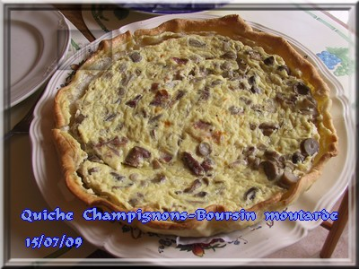 Quiche champignons-Bours*n moutarde + photos 090715094228683834075557