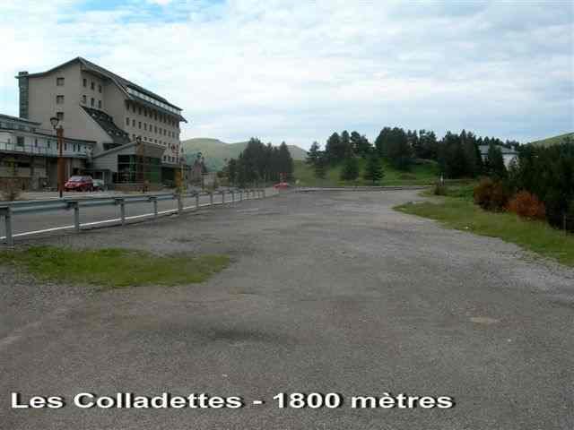 Les Colladettes ou Port de la Collada de Toses - ES-GI-1800