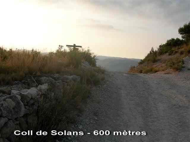 Coll de Solans - ES-T- 600 mètres