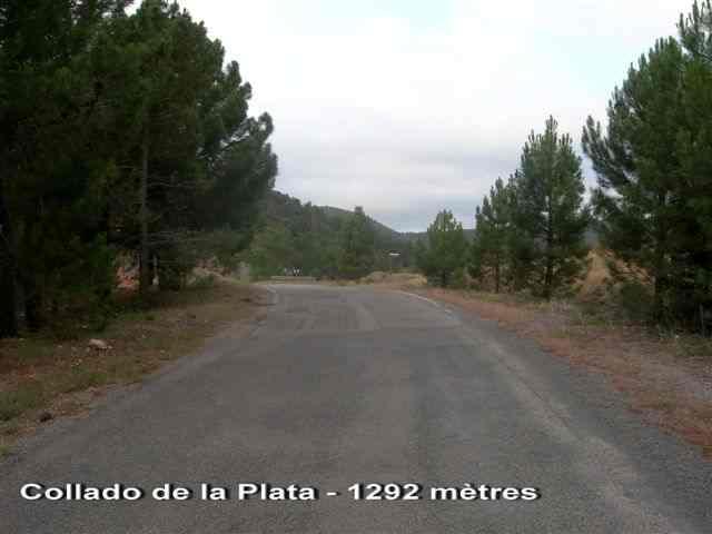 Collado de la Plata - ES-TE- 1292 mètres