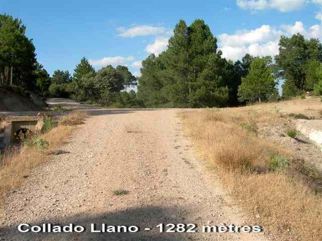 Collado Llano - ES-AB- 1282 mètres