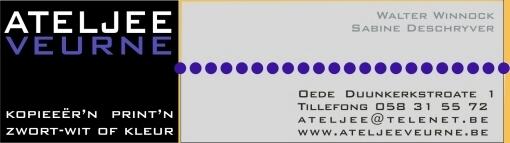 Recente West-Vlaamse opschriften en mededelingen 090728091522440054148727