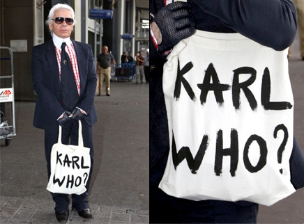 Karl who ? x Karl Lagerfeld