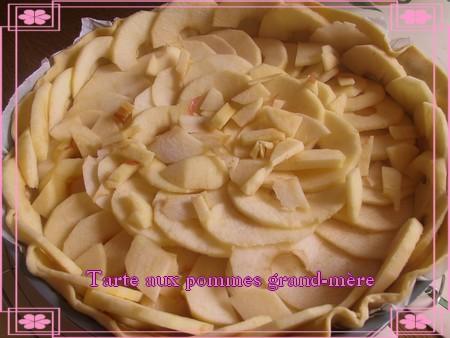 Tarte aux pommes grand-mère + photos * 090803101556683834189642