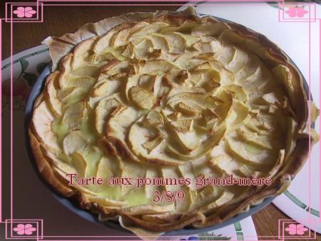 Tarte aux pommes grand-mère + photos * 090803101556683834189643