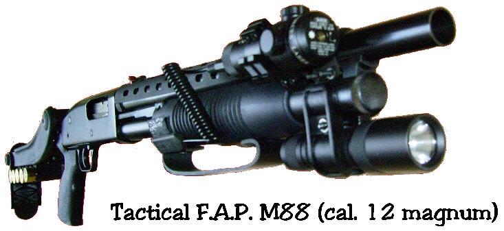 fusil canon court