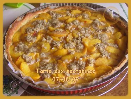Tarte aux nectarines + photos 090807084230683834211662