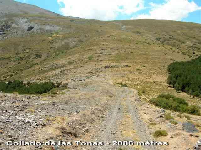 Collado de las Tonas - ES-GR- 2087 mètres