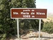 Puerto de Santa María de Nieva - ES-AL-1077a (Panneau)