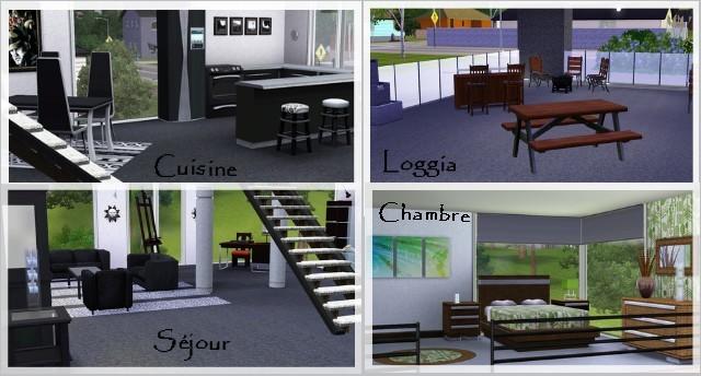 Maison Sims 4 Design MZ52 | Jornalagora