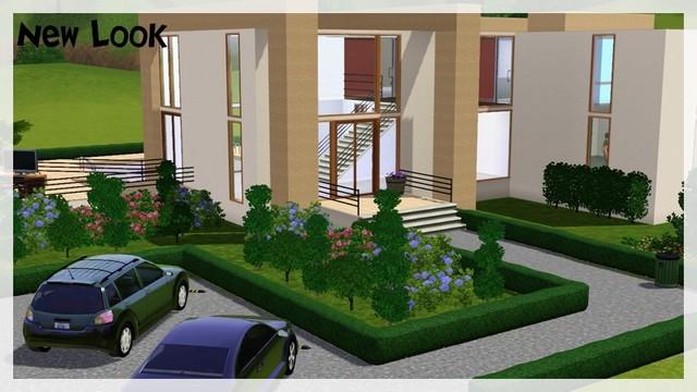 Sims 3 construction maison de luxe for Maison moderne de luxe sims 3