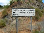 Puerto de los Carboneros - ES-MA-0633 (Panneau)