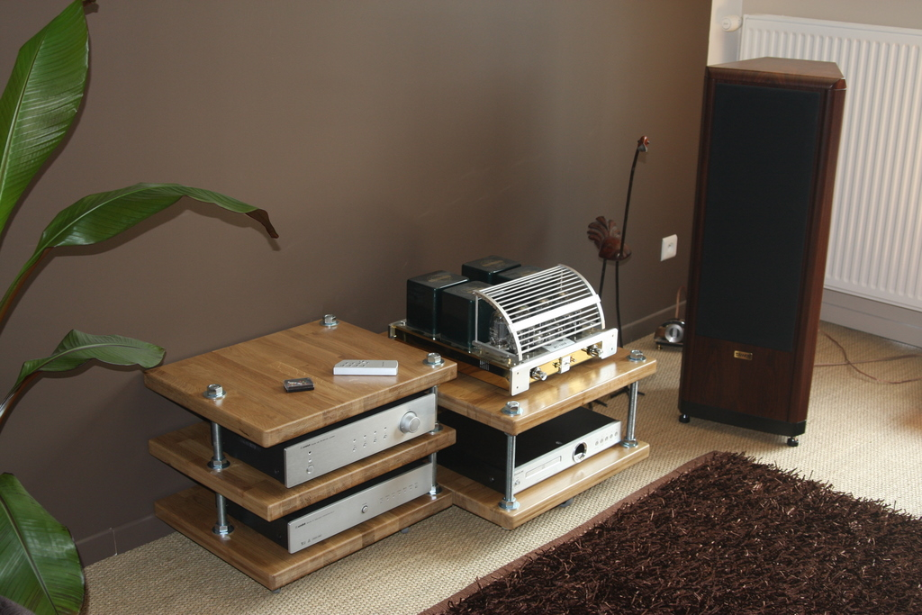 Meuble diy hifi base de tiges filet es page 3 - Installer un plan de travail sans meuble ...