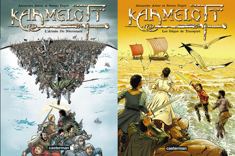 Kaamelott Tome 1 et 2 #BigBadWolf# ( Net) preview 0