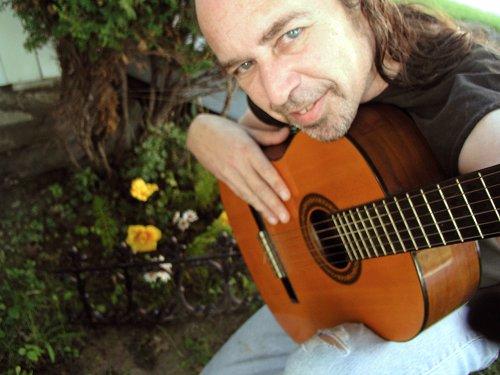 danydanielgabriel musique  fleur guitare