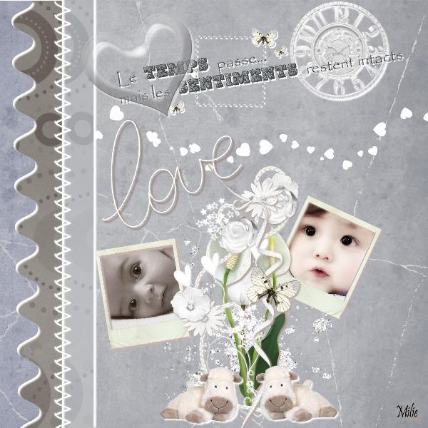 Kit Pure Love par Minette143 + WA Delph assorti