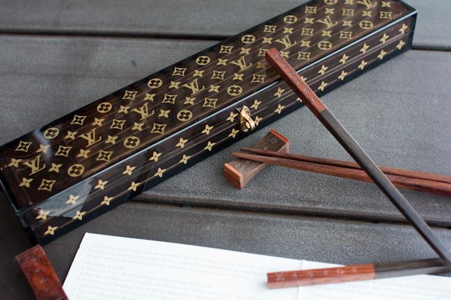 Louis Vuitton x VIP Monogram Chopsticks
