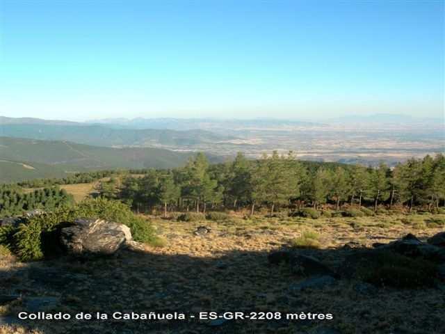 Collado de la Cabañuela - ES-GR- 2208 mètres