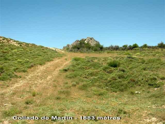 Collado de Martin - ES-GR- 1883 mètres