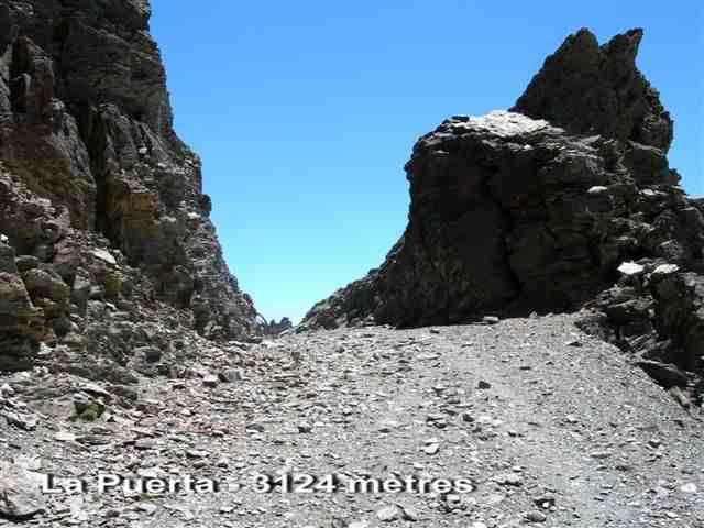 La Puerta - ES-GR- 3124 mètres