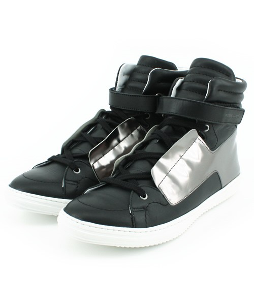 Pierre Hardy Black Leather Hi x Collection 2009