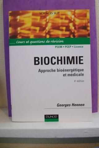 Livre biochimie, état NEUF dans Culturel 090901063622813754366357