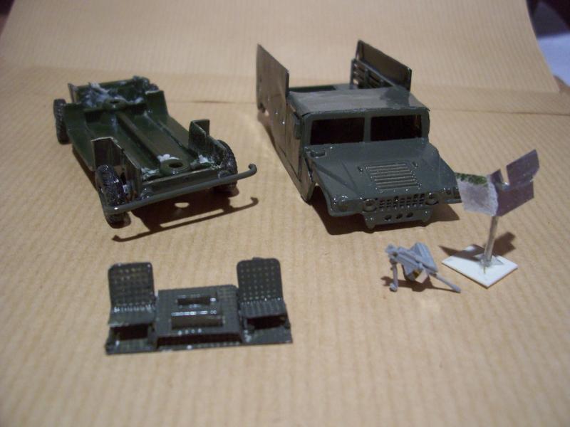 "Projet ""retouche"" Hummer 1/72 090903093441588624380272"