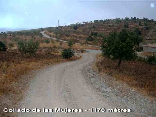 Collado de las Mujeres _ ES-AL- 1178 mètres