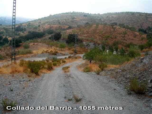 Collado del Barrio - ES-AL- 1055 mètres -