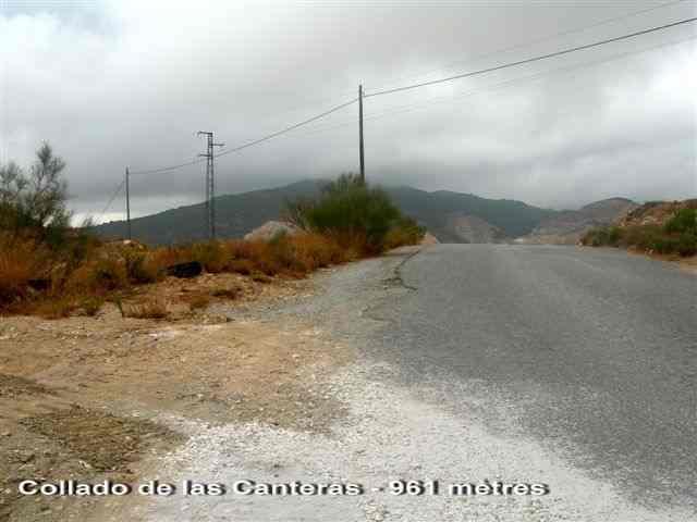 Collado de las Canteras _ ES-AL- 961 mètres