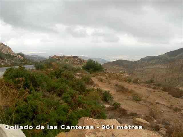 Collado de las Canteras ES-AL- 961 m.