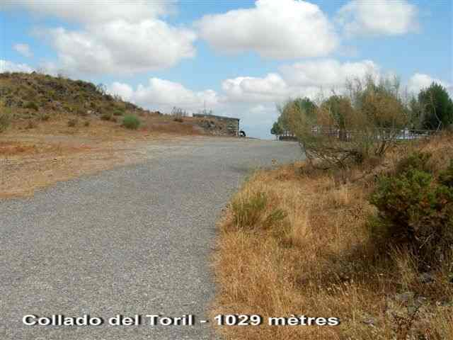 Collado del Toril ES-AL- 1029 mètres