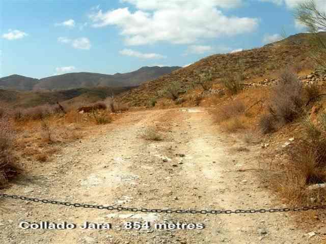 Collado Jara - ES-AL- 854 mètres