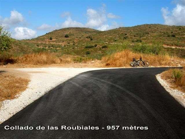 Collado de las Rubiales - ES-AL- 957 mètres