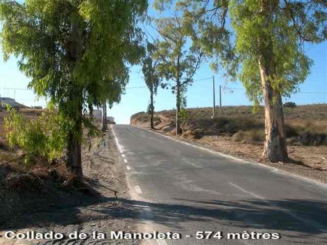 Collado de la Manoleta ES-AL- 574 mètres
