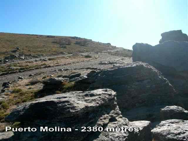 Puerto Molina - ES-GR- 2390 mètres