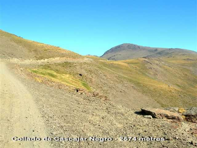 Collado de Cascajar Negro ES-GR- 2574 mètres