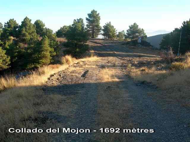 Collado del Mojon 1692 mètres