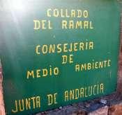 Collado del Ramal - ES-AL-1698 (Panneau M.A.)
