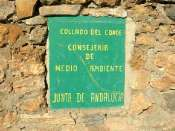 Collado del Conde - ES-AL-1885 (Pancarte)