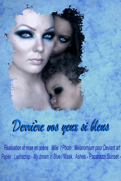 LeatiScrap kit My Dream in Blue +Mask de Ashes pour son kit Paparazzi Sunset