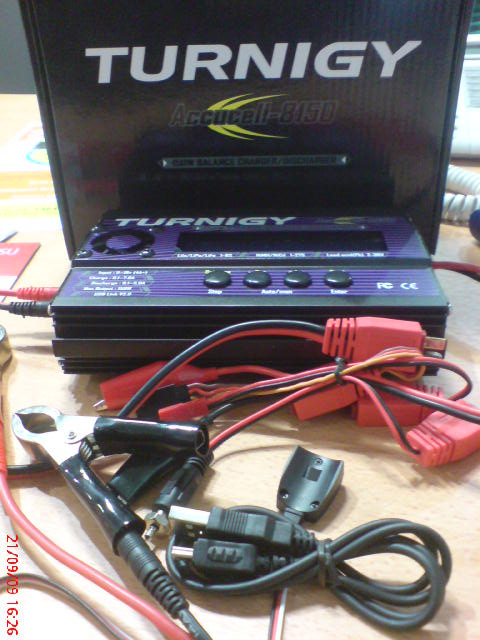 Turnigy accucel-8 150w 7a balancer charger