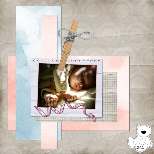 Template 17-Ashes + Kit-babys dreams- Mlle Héloïse