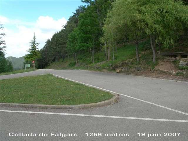 Collada de Falgars - ES-B-1256