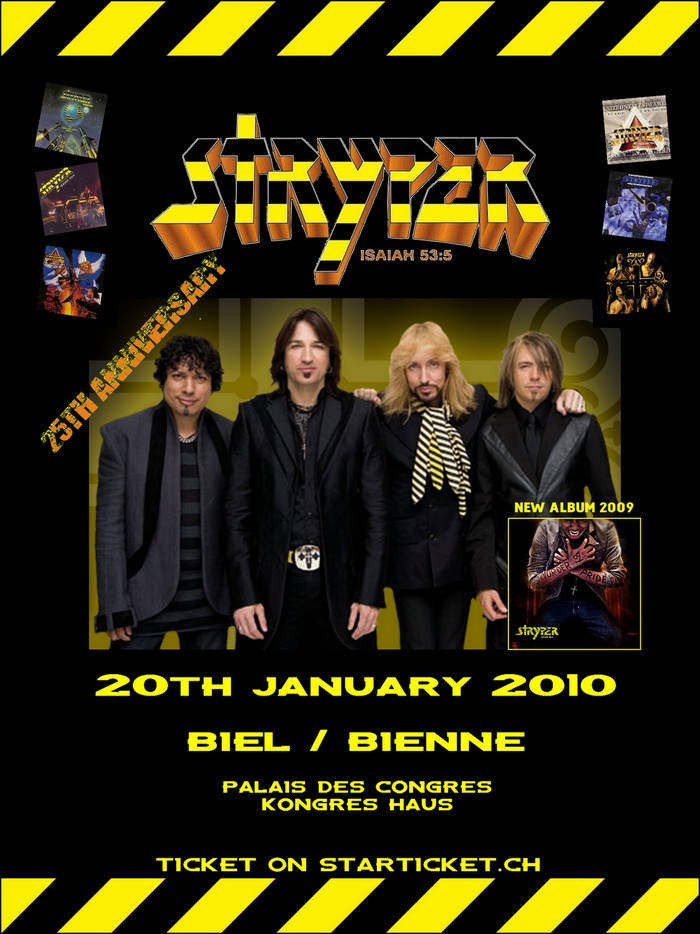 STRYPER - 25TH ANNIVERSARY WORLD TOUR - A Bienne @ Bienne