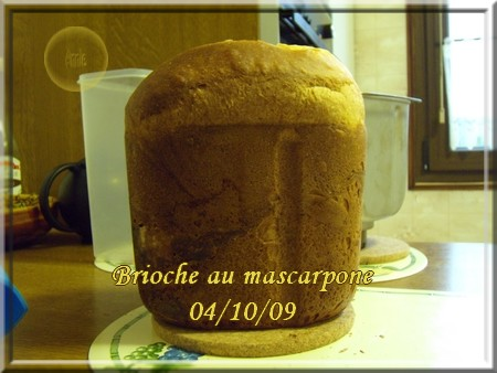 Brioche au mascarpone + photos 091004091507683834577285