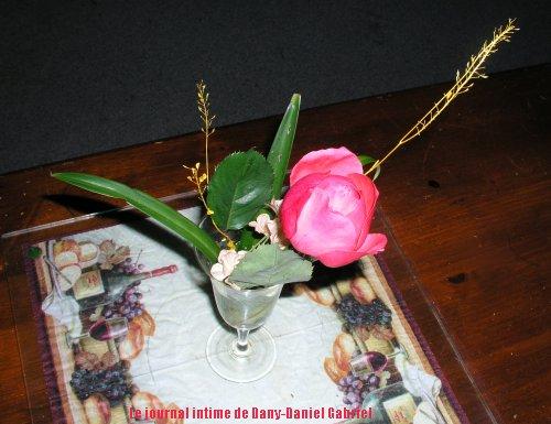 coupe de rose