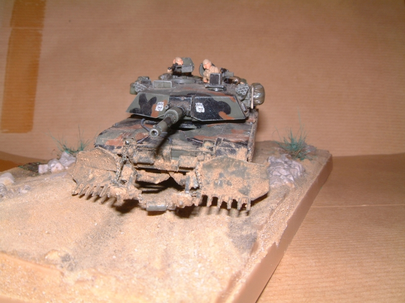 M1A1 with mine plough (1/72 DRAGON) 091010100641588624612887