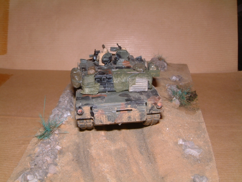 M1A1 with mine plough (1/72 DRAGON) 091010100657588624612891