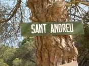 Collet de Sant Andreu - ES-B-0270 b (Pancarte)